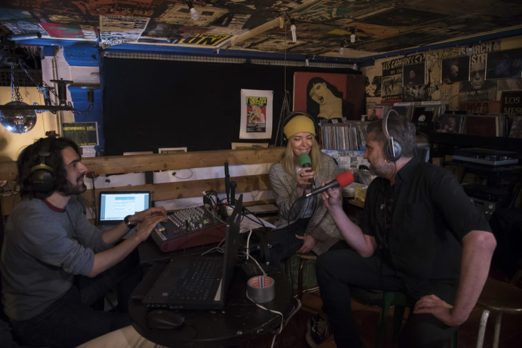 Photo interview de Damien Schmocker à Urgence Disk
