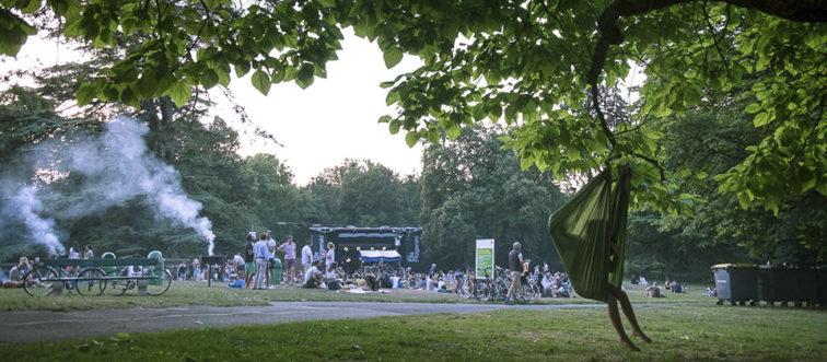 Photo Musiques en été au parc La Grange ©Boris Dunand